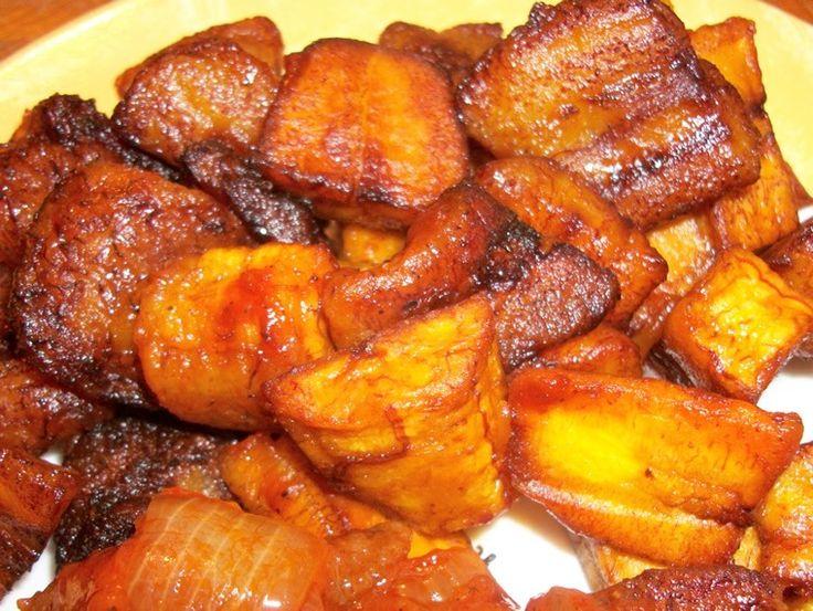 AFRIQUE Bananes Plantain Frites