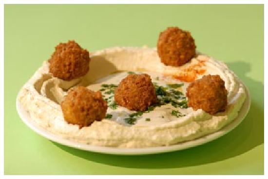 Moyen Orient Nord Afrique houmous-falafel